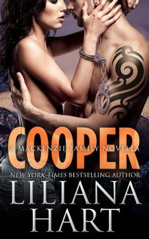 of a mackenzie family novellabooks cooper the mackenzie family 4 by liliana hart reviews