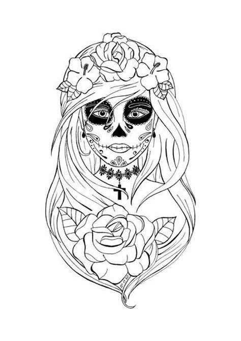 imagenes de calaveras bonitas para colorear calavera mexicana d 237 a de los muertos y dibujos de calaveras