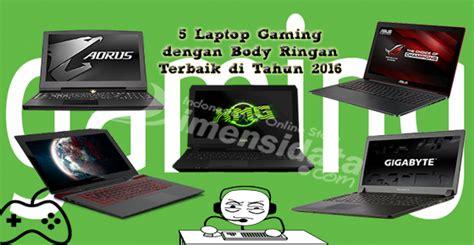 Pasaran Keyboard Gaming rekomendasi 5 laptop gaming spesifikasi high end harga