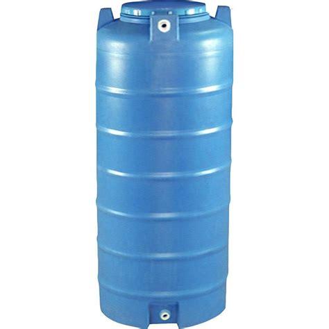 vassallo 150 gal vertical cylinder water tank vrm wtv150