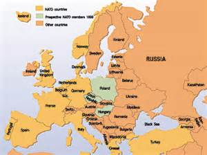 Map Of Europe Today by With The Armed Forces Into Year 2000 Economic Consequences