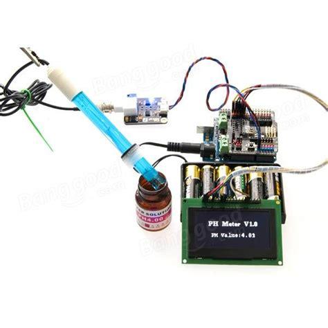 Ph Meter Menggunakan Kabel Sensor open source analog meter bnc schnittstelle ph sensor sonde f 252 r arduino verkauf banggood