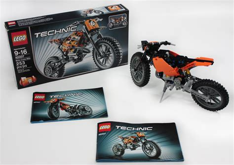 lego technic motocross bike lego technic moto cross bike set jeffs reviews