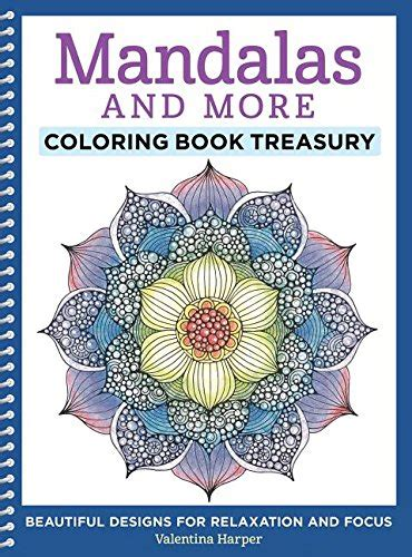mandalas gorgeous coloring books with more than 120 illustrations to complete mandalas and more coloring book treasury beautiful