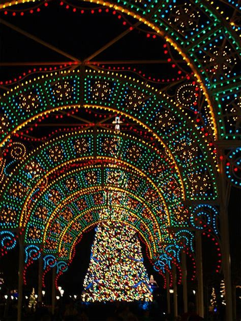 what time do they light the tree tree at disney s epcot walt disney world florida usa no doubt wishing they still
