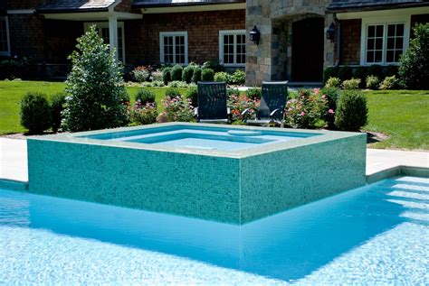 Glass Tile Swimming Pool Designs Earn New Jersey Based Swimming Pool Tiles Design