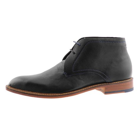 ted baker boots mens ted baker torsdi 2 ankle boots in black for lyst