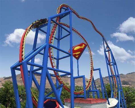 theme park vallejo ca superman ulitmate flight at six flags discovery kingdom