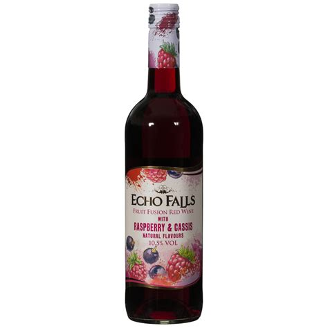 echo falls fruit fusion red wine  raspberry cassis