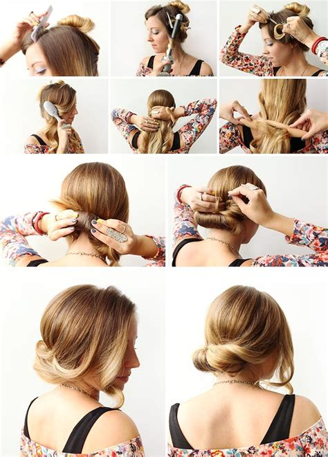 how to roll front of hair how to wrap roll hair nordstrom beauty blog