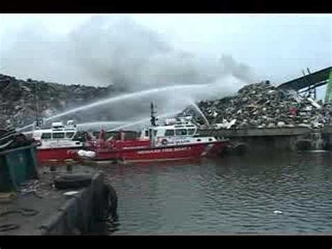 pt boat action reports 06 25 07 jersey city newark fireboats in action