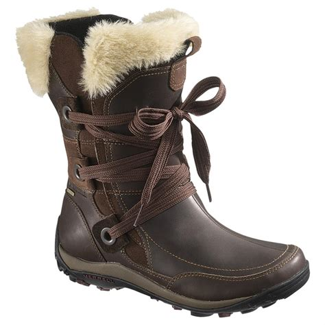 merrell snow boots s merrell 174 waterproof insulated winter boots