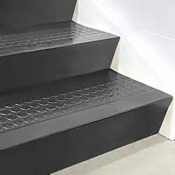 Black Stair Treads by Stair Tread Risers Rubber 72 X 7 Quot Black H 5199bl Uline
