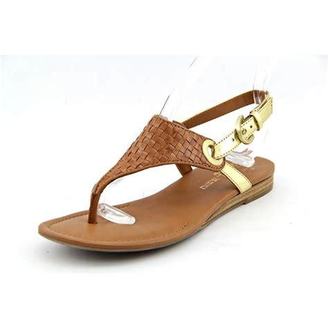 franco sarto brown sandals franco sarto grip 2 open toe leather brown slingback
