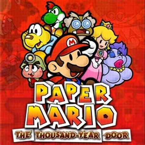 Paper Mario And The Thousand Year Door by Day 2 Of The Three Day Paper Mario Extravaganza The