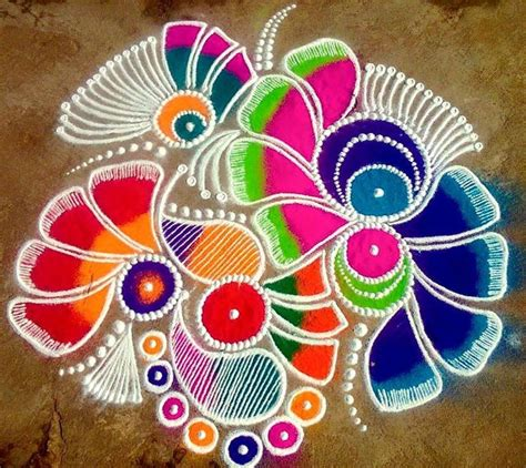 1000 ideas about rangoli designs on easy