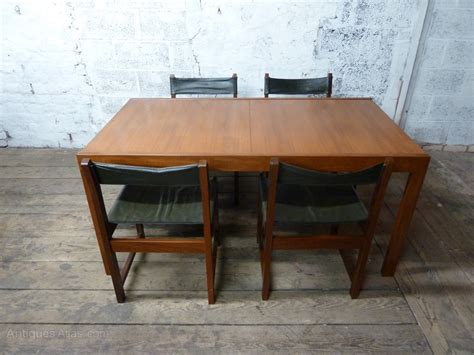 Antiques Atlas Teak Extending Dining Table And Chairs Teak Dining Table Chairs