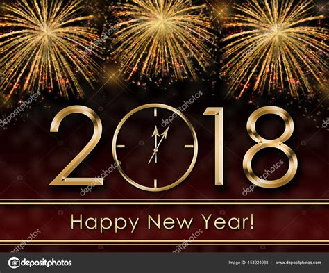 new year background 2018 2018 happy new year background with fireworks and gold