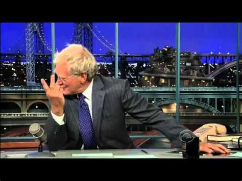 Sanjaya Does The Letterman Top Ten by Does The Top Ten With David Letterman