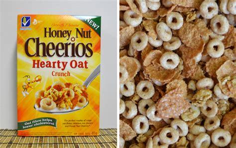 Cheerios Honey Nut Oats le connoisseur de c 233 r 233 ales du qu 233 bec honey nut cheerios hearty oat crunch