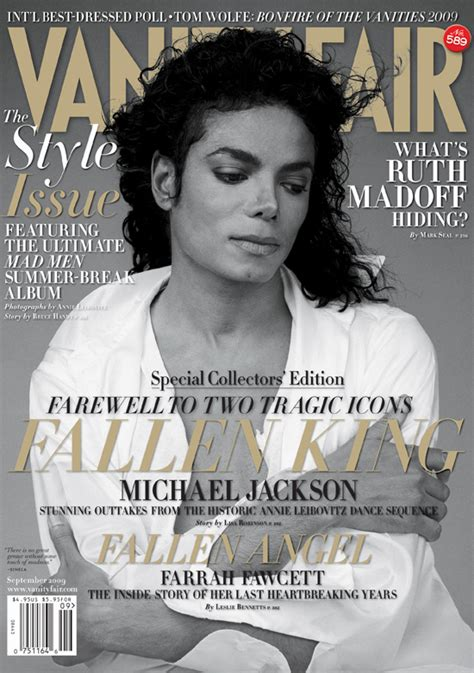 The Vanity Fair by Vanity Fair S Two September 2009 Covers Michael Jackson