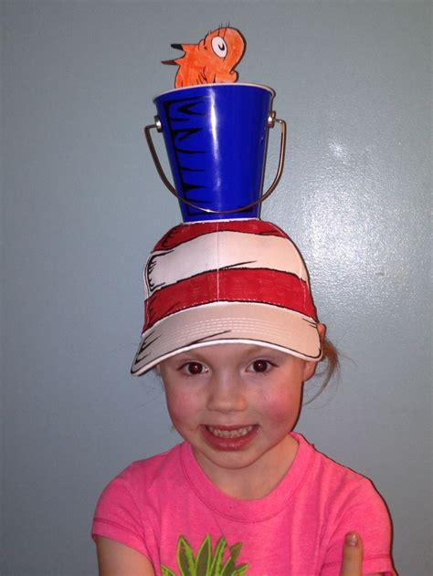 crazy hat day remembering dr seuss diy pinterest