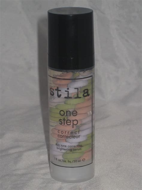 Stila One Step Prime stila one step correct primer review and swatches