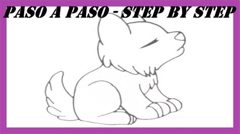 imagenes para dibujar un lobo como dibujar un lobo aullando l how to draw a wolf howling