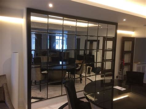Modern Dining Room Wall Mirror Mirror Wall Panel