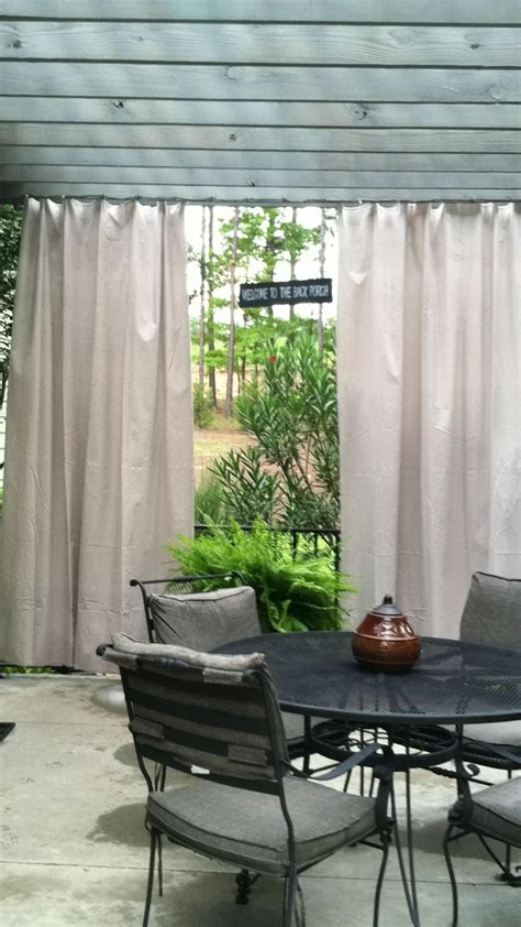 outdoor curtains  painters canvas drop cloth