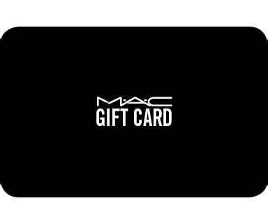 Mac Gift Card - mac cosmetics