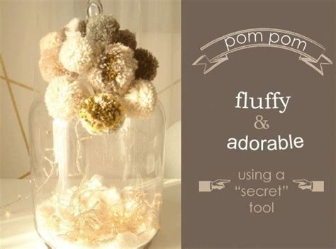 how to make pomeranian hair fluffy really fluffy pom poms 183 how to make a pom poms 183 yarncraft on cut out keep