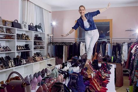 Dion Shoe Closet by Once In Quot Shopaholic Quot Dion Hires Stylist Roach Security News