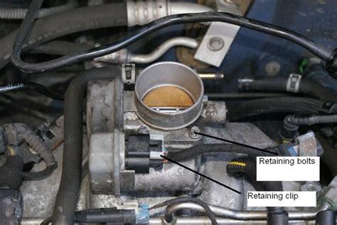 throttle remove zafira maintenance