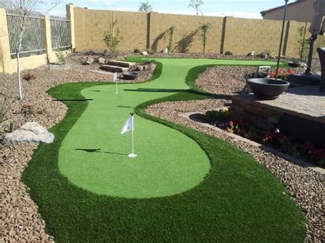 put grass in backyard az grassman artificial turf 16628 e saguaro blvd