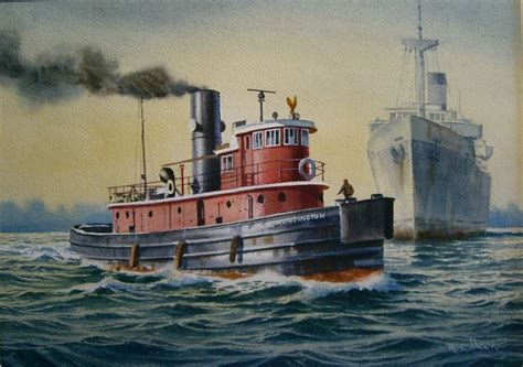 tugboat painting 17 best images about tugboats work boats on pinterest