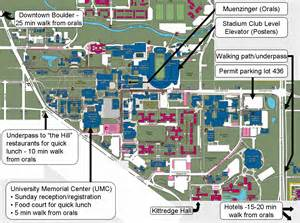 map of colorado college cus maps 24th ilrc