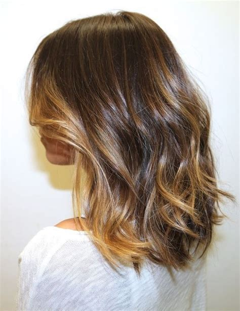 shoulder length with balage ombrey nice ombre balayage for medium length hair this is