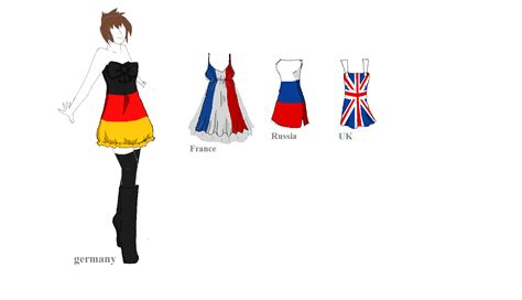 flags of the world dress idea from hetalia european flag dresses pg 1 by hipster