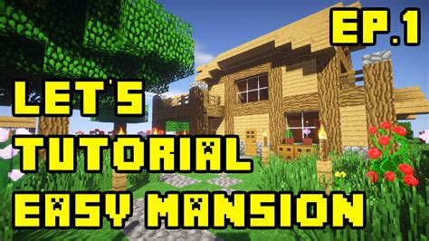 episode 27 ideas for building a house on a budget fine homebuilding minecraft let s tutorial easy simple mansion build ep 1