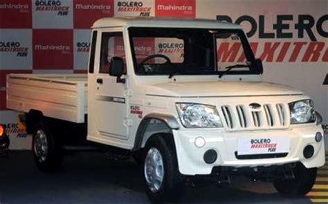 mahindra bolero mileage per litre quot mahindra launches the new bolero maxi truck plus quot