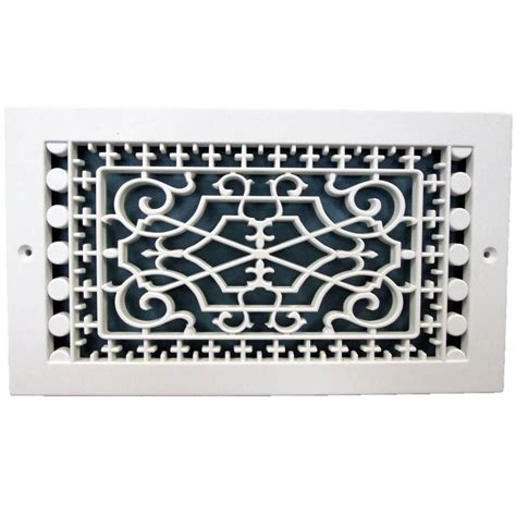Decorative Return Air Grill by Smi Ventilation Products Base Board 6 In X 10