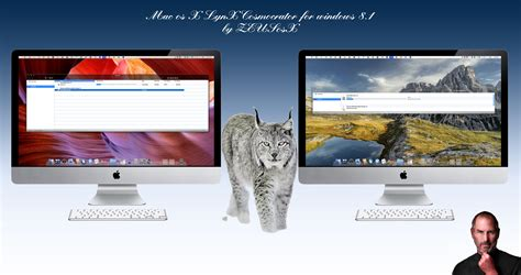 os x themes for windows 8 1 mac os x lynx theme for windows 8 1 by zeusosx os