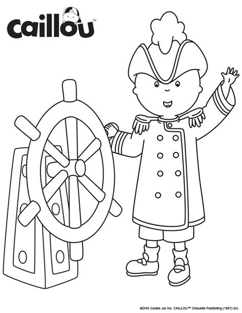 printable caillou images 17 best images about caillou coloring fun on pinterest