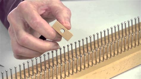 how to use a knitting board 38 quot knitting board
