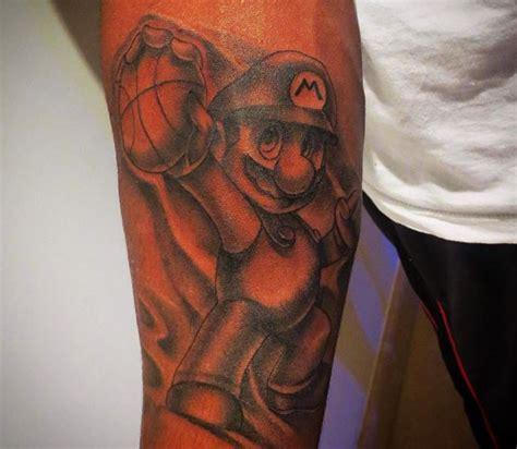 mario tattoo you instagram mario chalmers got a super mario tattoo larry brown sports
