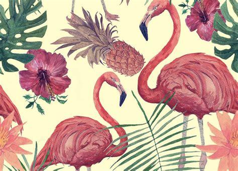 tessuti fiorati fenicotteri dopo la moda il trend contagia anche il design