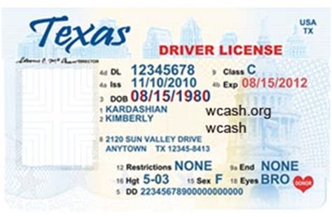 id templates for photoshop template texas new drivers license editable photoshop file