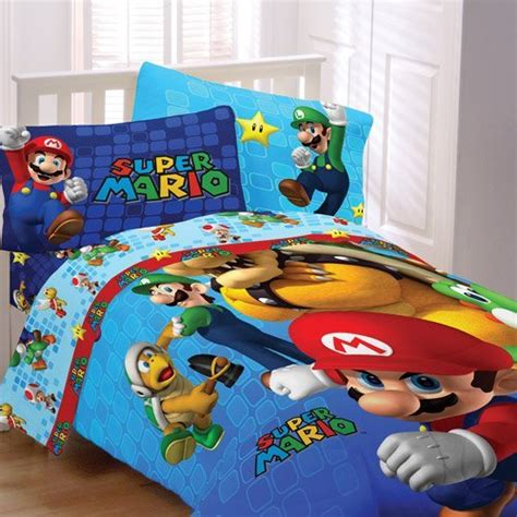 mario brothers bedroom super mario comforter fitted sheet sets for boys bedroom