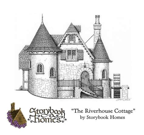 storybook cottage floor plans 25 best ideas about storybook homes on pinterest